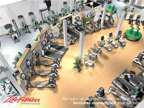 Life fitness apparatuur Belgie